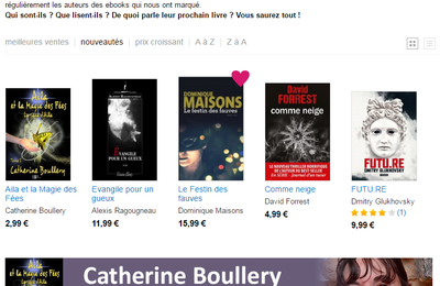 Catherine Boullery invitée par Bookeen Store
