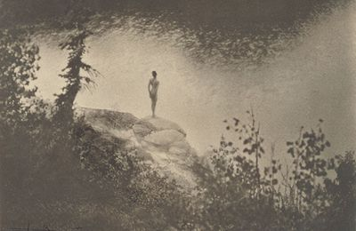 Figure in the landscape