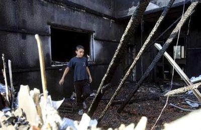 PALESTINE MARTYRISÉE : QUAND L'INCENDIAIRE NETANYAHOU CRIE ''AU FEU !''…