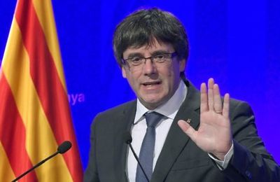 CATALOGNE : PUIGDEMONT CONTINUE SES PROVOCATIONS