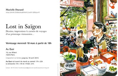 "Exposition ""Lost in Saïgon"""