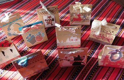"challenge de Noël sur le blog solidaire ""Give Your Scrap"""