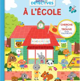 [Fiche Livre] Petits détectives à l'école & Petits détectives à la maison - S. Baretti