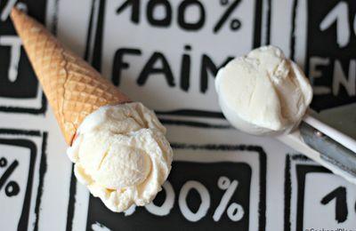Crème glacée à la cardamome (avec sorbetière)