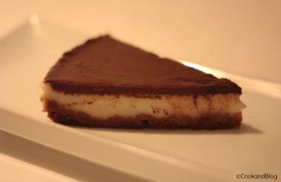 Test internet : Gâteau coco-choco façon cheesecake