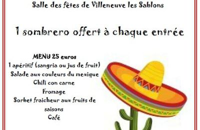 SOIREE MEXICAINE!