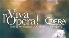 VIVA L'OPERA gratuit pour les élèves du CRD d'Aulnay !