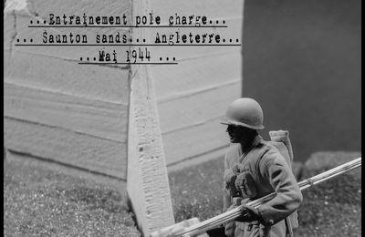 U.S. Rangers, Entrainement Pole Charge, Angleterre 1944
