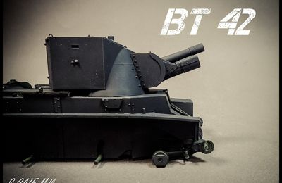 BT 42 ( Tamiya 1/35 ) épisode 1