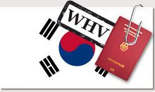 WVH / PVT Working Visa Holiday / Visa Vacances Travail