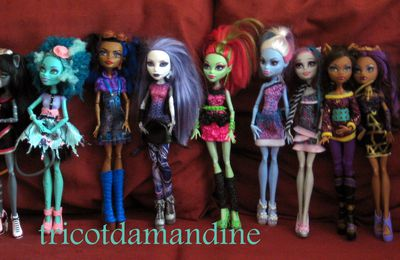"Quelques ""Monster high"""