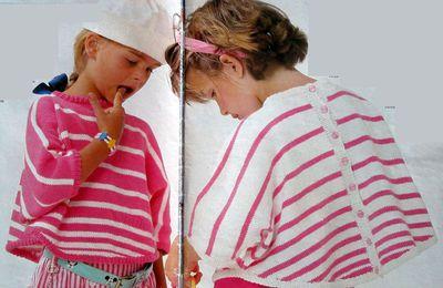 Petits ponchos d'été pour petite filles ...