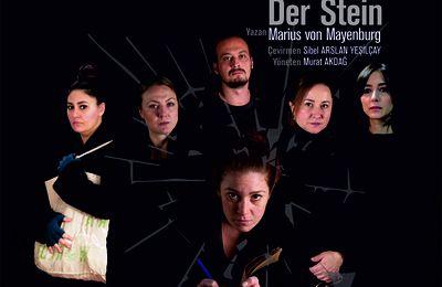 Tiyatro oyunu TAŞ'ın ışık tasarımını Emine Akbucak gerçekleştirdi - Emine Akbuçak crée le design des lumières d'un théâtre