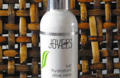 Jovees le lait hydratant à l'aloé vera