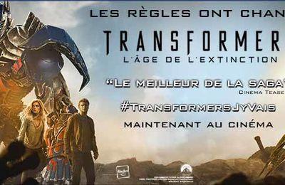 J'ai testé pour vous... Transformers 4 : L'age de l'extinction