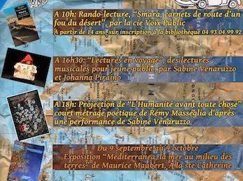Salon du livre de Breil-sur-Roya
