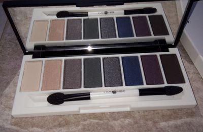 Maquillage bio/ vegan : test de la palette pour les yeux Lily et Lolo