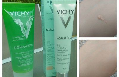 Test Vichy Normaderm (BB Cream/nettoyant)