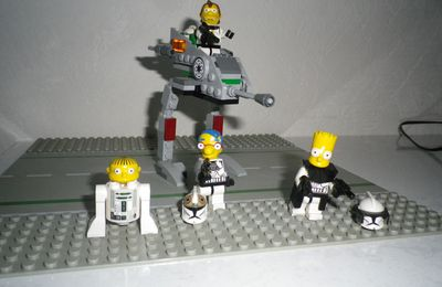 Lego Simpsons Star Wars