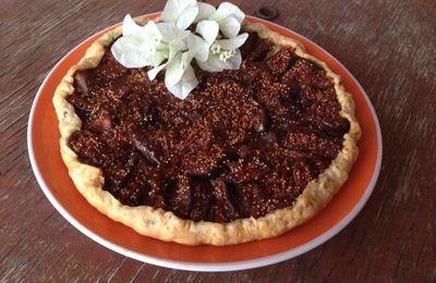 Solen m'a Cuisinée avec la Tarte aux Figues, Amandes et Lavande
