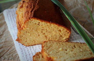 Cake Moelleux au Lait Concentré et au Sucre à la Citronnelle...si Vous Voulez!!