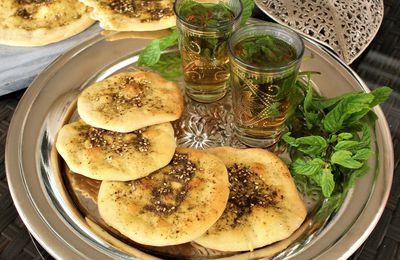 Man'ouché-Mana'ich-Pains Libanais