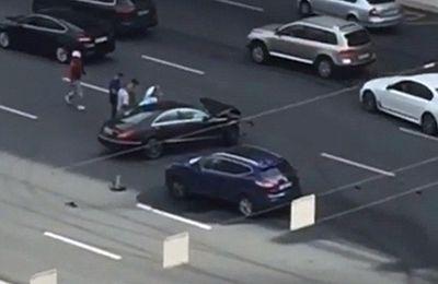 La voiture officielle de Vladimir Poutine est impliquée dans un accident frontal à Moscou qui a tué le «chauffeur favori» du président russe