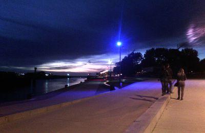 promenade ou recherche de Pokemon? sur le port de Boulogne sur mer