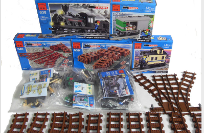 Un set de train complet - Enlighten train
