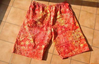 Ma semaine couture 2: les shorts et sarouels