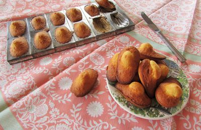 Madeleines classiques