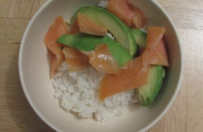 Sushi bowl (saumon & avocat)