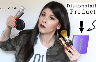 NEW Disappointing Products! 2016