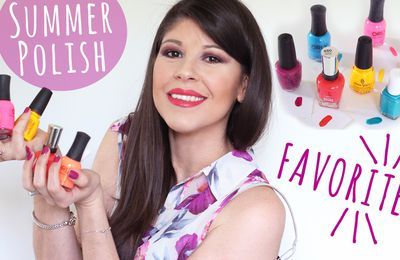 My Top 7 Summer Nail Polish Favorites! OPI, Essie, China Glaze, Orly