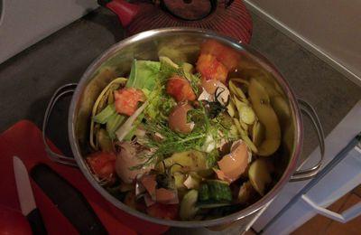 cuisiner pour les poules