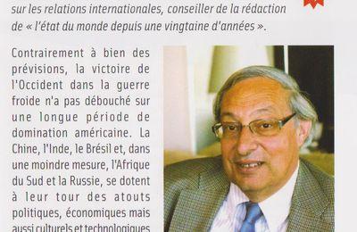"""Conférence de B. Badie sur """"Puissances d'hier et de demain"""""""