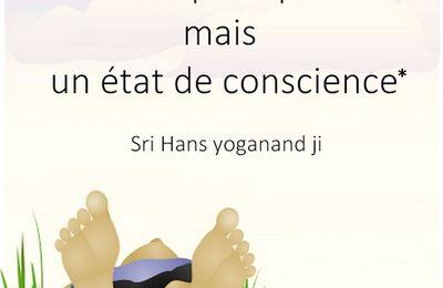 Le Yoga n'est pas une pratique