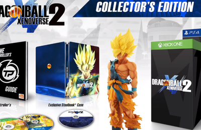 DRAGON BALL XENOVERSE 2 : Collector, season pass .. [DOSSIER]