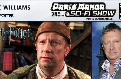 Mark Williams (Harry Potter)  à Paris Manga & Sci-Fi Show ! Cc @parismanga