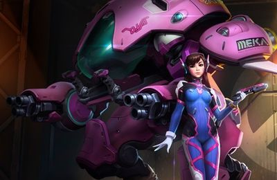 D.VA rejoint le Nexus dans Heroes Of The Storm