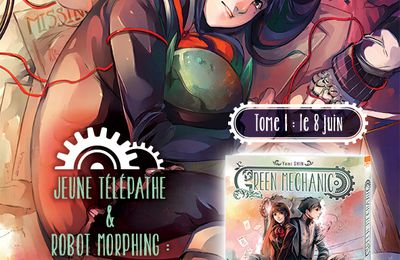 #Critiquemanga : Green Mechanic ! chez @Ki_oon_editions