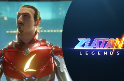 Zlatan arrive sur mobile avec Zlatan legends !