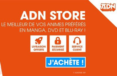 Anime Digital Network lance sa boutique en ligne ! Cc @ADNanime