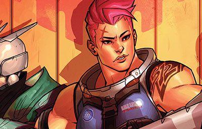 """La bande dessinée n°15 d'Overwatch : """"La recherche"""", avec Zarya disponible en ligne !"""
