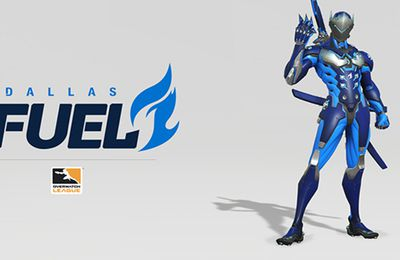 Découvrez le second nom d'équipe officiel de l'Overwatch League : les Dallas Fuel !
