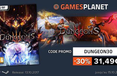 [BONPLAN GAMESPLANET] Dungeons 3