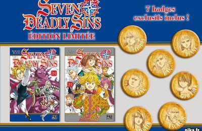 Seven Deadly Sins Tome 24 propose une édition limitée !