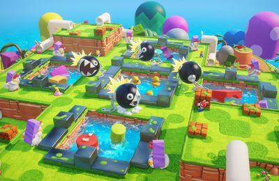 Mario + The Lapins Crétins Kingdom Battle présente son Pack Défis Ultra