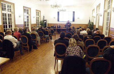 Réunion à la mairie de Crépy en Valois concernant le dagnostic des besoins de santé et de l'offre de soins