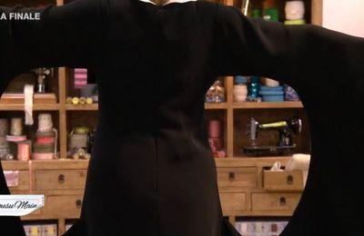 COUSU MAIN 8 Finale : chemise femme, veste homme, robe de soirée.